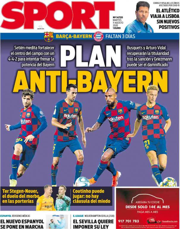 """Barca lên """"kế hoạch chống Bayern"""" cho trận đại chiến tại cúp C1"""